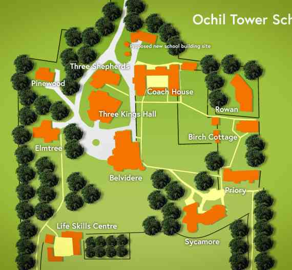 Ochil Map